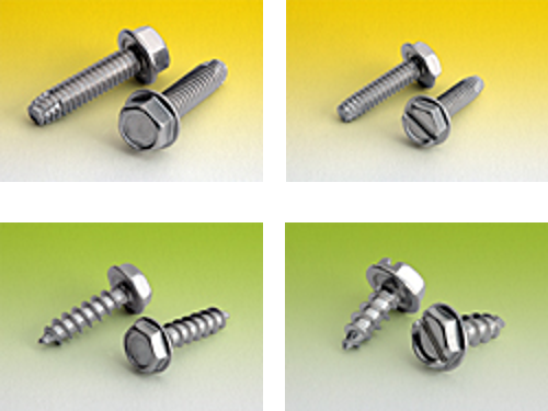 Hex Thread Cutting and Tapping Screws