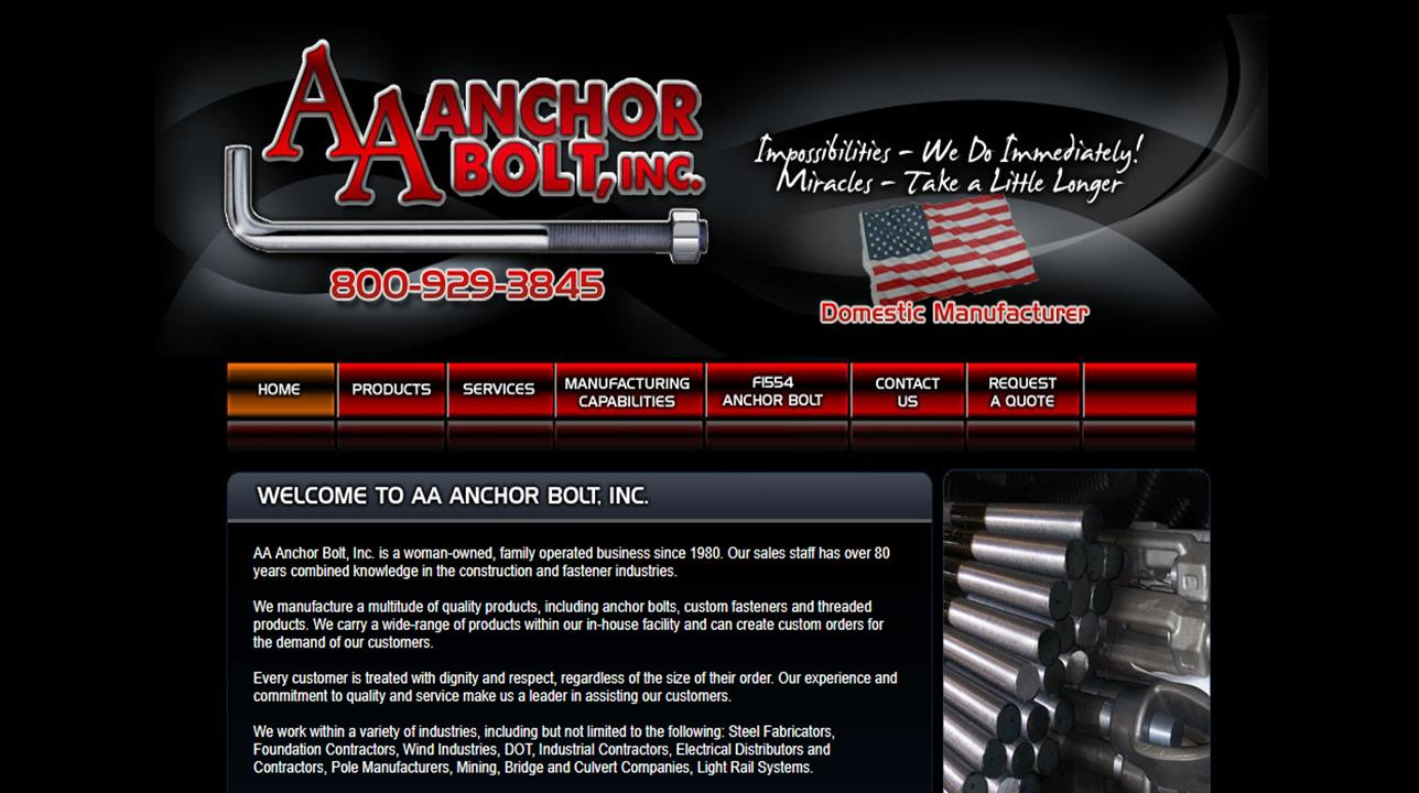 AA Anchor Bolt, Inc.