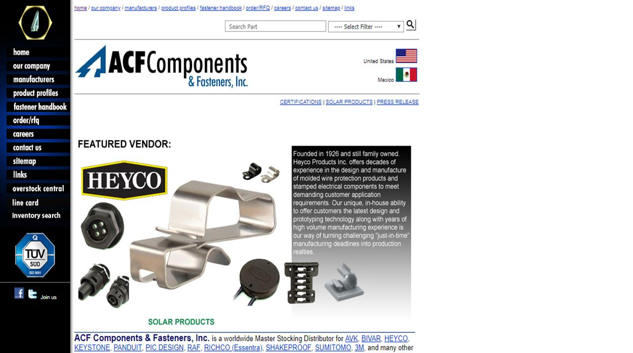 ACF Components & Fasteners, Inc.