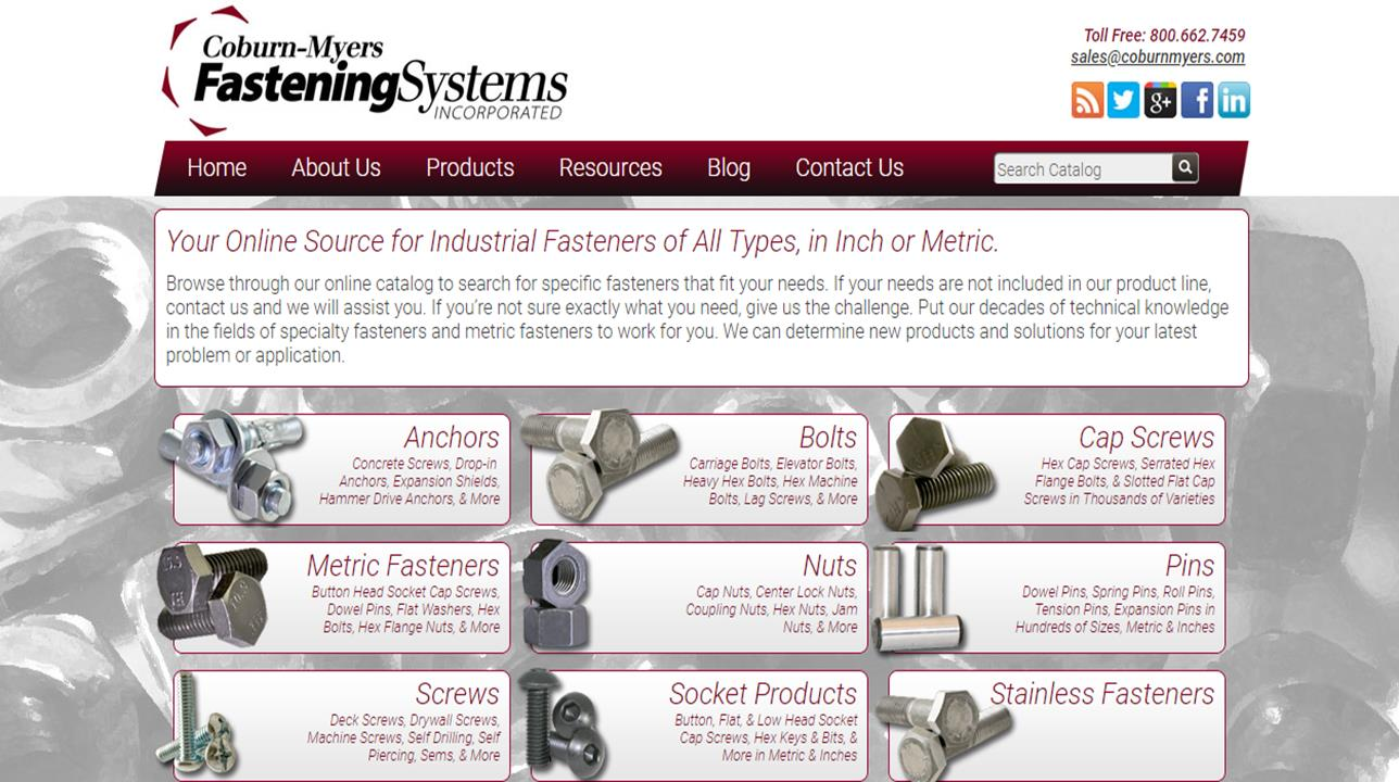 Coburn-Myers Fastening Systems Incorporated
