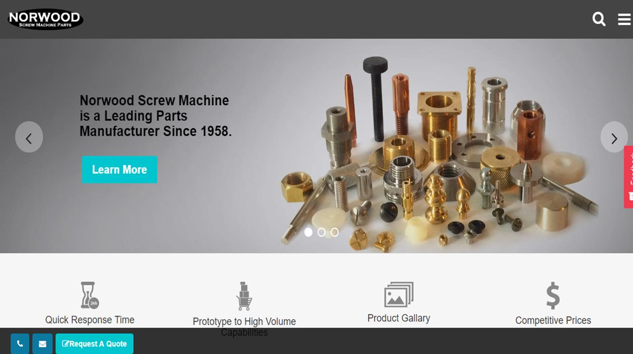 Norwood Screw Machine Parts