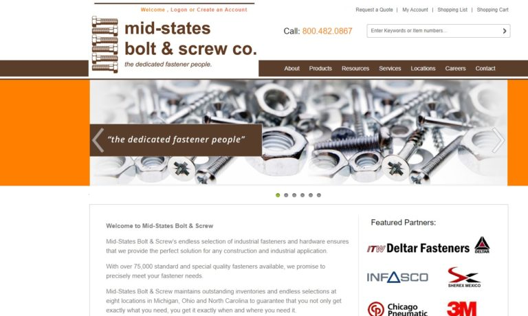 Mid-States Bolt & Screw Co.